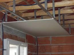 pose plafond suspendu ba13 hotelfrance24