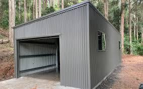 104 Skillian Roof Skillion Garages Australia Skillion Double Single Garages Best Sheds