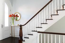 Impressive Elegant Banister Rails Metal Ideas ~ Yustusa Stair Rail Decorating Ideas Room Design Simple To Wooden Banisters Banister Rails Stairs Julie Holloway Anisa Darnell On Instagram New Modern Wooden How To Install A Handrail Split Level Stairs Lemon Thistle Hide Post Brackets With Wood Molding Youtube Model Staircase Railing For Exceptional Image Eva Fniture Bennett Company Inc Home Outdoor Picture Loversiq Elegant Interior With