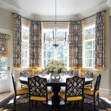 Astonishing Grey And Yellow Dining Room Dakota Contemporary San