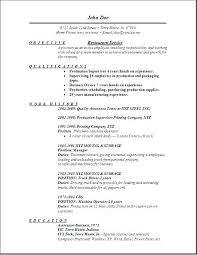 Restaurant Resume Sample Service Free Edit Examples Hostess For Template