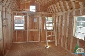 10 X 16 Shed Plans Gambrel by 10 X 20 Gambrel Shed Plans Goehs Playroom Shed