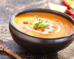 patate douce cuisine recette soupe épicée à la patate douce