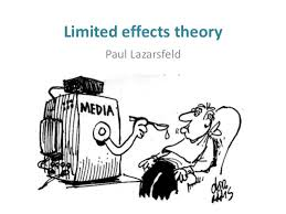 THE RISE OF LIMITED EFFECTS THEORY