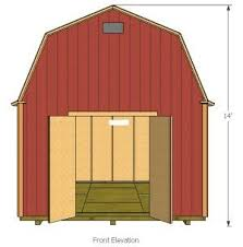 12x16 Wood Storage Shed Plans by 9 Best 10x20 Shed Plans Images On Pinterest 10x20 Shed Shed