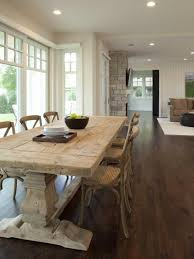 Farm Tables With Room Ideas Empty Table