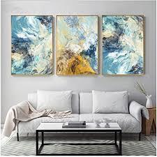hsffbhfbh leinwand malerei abstrakt geheime mess farbe blau