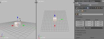 Moving An Object In Blender Animated Gif