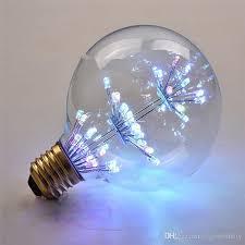 creative new design g80 e27 220v led edison light