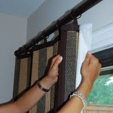 Insulated Window Curtain Liner by Blackout Liner For Bamboo Shades Foter