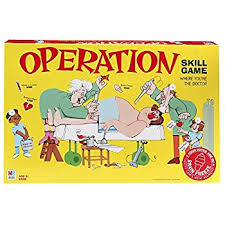 Classic Operation Skill Game Amazon Exclusive