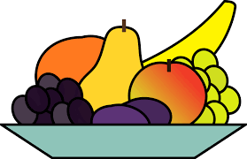 Fruit Salad Clipart Black And White