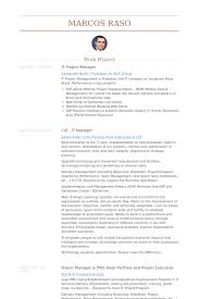 It Project Manager Resume Samples Visualcv Database