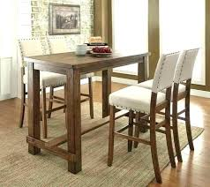 Charming Design Pub Dining Room Set Bar Height Table And Chairs Style Brilliant Best Sets With