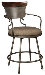 Mestler Side Chair Wayfair by Signature Design By Ashley Moriann Upholstered Barstool With Metal