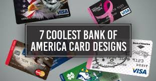 7 Coolest Bank of America Card Designs CardRates