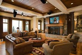 Best Rustic Design Ideas For Living Rooms Contemporary Interior