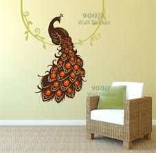 Peacock Wall Stickers DIY Home Decoration Art Decor Decal DQ2014435