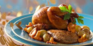 comment cuisiner des cailles cailles rôties au foie gras recette sur cuisine actuelle