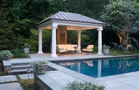 Harmonious Pool Pavilion Plans by Pavilion Houzz