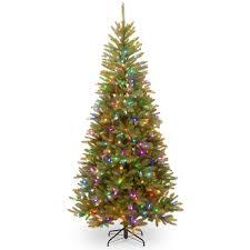 Skinny Christmas Trees Artificial Diy National Tree Pedu7 R58 75 7 1 2 Feel Real R Dunhill Fir Mixed Slim