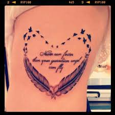 Guardian Angel Tattoo Quotes