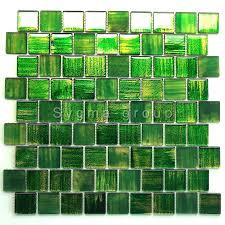 glasfliesen mosaik badezimmer und küche drio vert