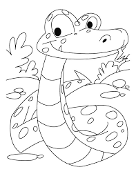 Hibian And Reptile Coloring Pages