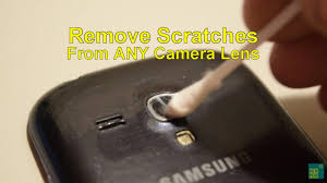 How to fix Scratched Camera Lens on any Smartphone ✓