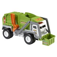 MATCHBOX® Mega POWER SHIFT™ Garbage Truck - Shop.Mattel.com | JT ...