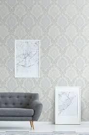 tapete vlies modernes landhaus ornamente pastell tapeten