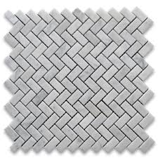 carrara marble tile italian white 5 8x1 1 4 herringbone