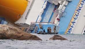 costa concordia cruise ship sinking striking photographs of