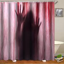 3D Blue Sea Beach Polyester Bathroom Shower Curtain