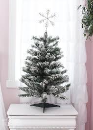 A Flocked Fairy Tale Christmas Tree