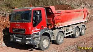 IVECO Trakker 8x8 Dump Truck Extreme Loads YouTube With Dump Truck ...