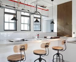 Good Looking loft apartment Industrial Kitchen