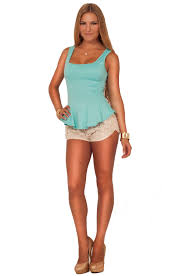 juniors trendy cotton fitted chic floral lace casual summer tight