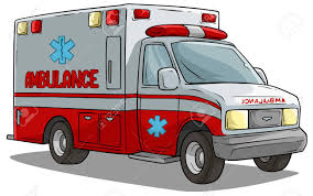 100 Emergency Truck Cartoon Red Ambulance Car Or With Text Label