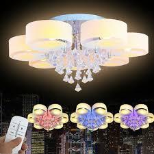 leuchten leuchtmittel e27 led wohnzimmer kristall