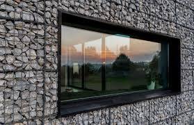 100 Gabion House Organic Architecture Clad Landscape Walls