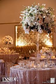 Tall Elegant Centerpiece Inspiration On Andre Winfrye Events