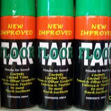 carpet spray adhesive carpet aerosol glue multipack cans