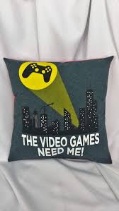 Video Game Fan Gift Gamer For The Couch Den Or Bedroom Gamers Are People Too General Bedding Decor