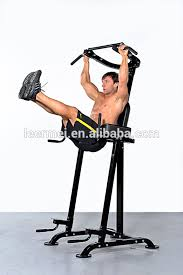 Captains Chair Leg Raise Youtube by Knee Raise Multi Power Tower With Exercise Bench Chin Up Push Pull