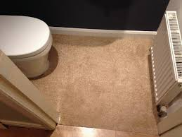 Cutting Tile Around Toilet Comfortable An Off Cut Of Carpet Was Used As A Temporary Floor Covering Until
