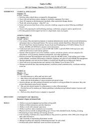 Clerical Resume Samples | Velvet Jobs Clerical Cover Letter Example Tips Resume Genius Sample Administrative New Rumes Examples Of 15 Mmus Form Provides Your Chronological Order Of Objectives For Positions Study Cv Samples Office Job Post Objective 10 Data Entry Jobs Proposal Letter Free Elegant Inventory Clerk What Makes Information 910 Examples Clerical Rumes Soft555com