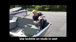 DIY Installing Fishing Seats On Your Row, Jon Or Utility Fishing Boat. Wise Blastoff Series Bench Seat 203467 Fold Down Seats At Selecting The Best Deck Chair Boating Magazine Wander Directors With Side Table Folding Alinum Frame Rear Dorel Cosco Commercial Beige Upholstered 4pack Bcf Top 10 Boat Of 2019 Video Review Questions Answers