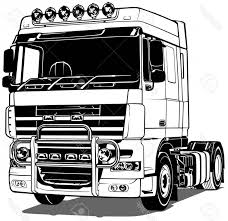 Photostock Vector Black And White Truck Outlined Vector Illustration ... Semi Truck Outline Drawing Vector Squad Blog Semi Truck Outline On White Background Stock Art Svg Filetruck Cutting Templatevector Clip For American Semitruck Photo Illustration Image 2035445 Stockunlimited Black And White Orangiausa At Getdrawingscom Free Personal Use Cartoon Transport Dump Stock Vector Of Business Cstruction Red Big Rig Cab Lazttweet Clkercom Clip Art Online Trailers Transportation Goods