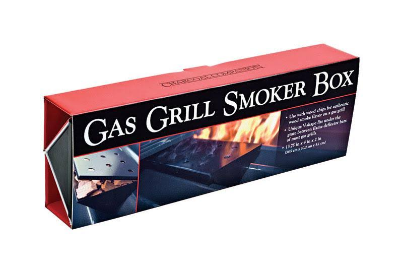 Charcoal Companion Gas Grill Smoker Box